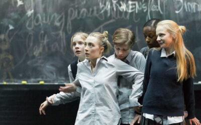 Erin Wilhelmi '04 steps onto the Broadway stage